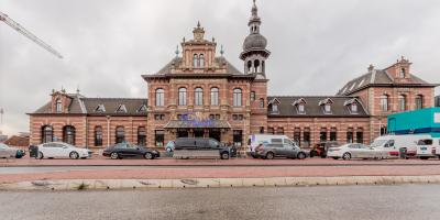 Stationsplein, Oude station Delft